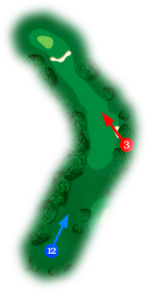 Holes 3 and 12